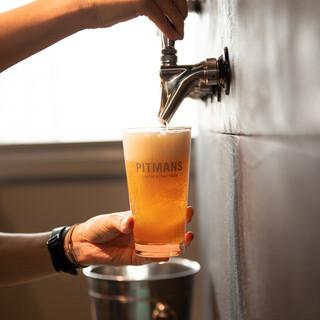 9種類のクラフトビールもご用意♪季節限定もございます◎