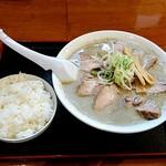 煮干中華 あさり - (肉)味噌煮干し中華