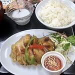 タイ料理&グリルバー バン - 「チキングリル定食」(1000円)