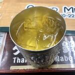 タイ料理&グリルバー バン - 定食セットのジャスミン茶
