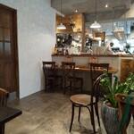 cafe sov - 内観