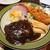 レストラン むらやま亭 - 料理写真:Aセット:ハンバーグ&ジャンボ海老フライセット1,680円