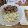 Teuchiudomburedou - 料理写真:ワサ肉バーナー+ナスベー