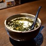 47都道府県の日本酒勢揃い 富士喜商店 - おでん出汁茶漬け@390円