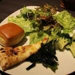 Okuraresutoranyokohamabuffeandodainingusafaia - サラダ