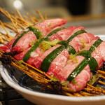広島ホルモン・冷麺・元祖たれ焼肉 肉匣 - ネギタン