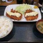 とんかつのなみま - 料理写真:・「100番 ダブルチキンタルタル(¥980)」