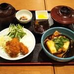 和食処 松竹亭 - 料理写真:肉豆腐定食