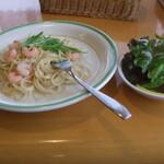 よしの - 料理写真:エビクリームスパゲティー