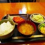 鹿児島郷土料理 おはん - カジキの味噌漬け焼定食