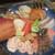 旬彩 天ぷら 心来(しんら) - 料理写真:大皿に盛られて紹介される 本日の新鮮素材。     2020.12.12