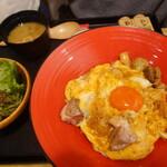 yakitoritowainkasshi-wa - 地鶏と「がんこ村玉子」の極み親子丼