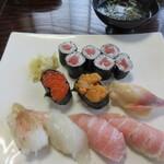 鮨華 - 料理写真:にぎり寿司(上)2,160円