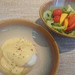 サルティーダ - 料理写真:久しぶりのエッグベネディクト。
