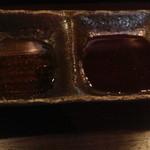 焼肉 文屋 - たれ二種(フルーティーと濃い味)