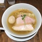麺屋鈴春 - 塩味玉らーめん