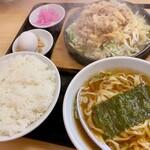 大盛軒 - 鉄板麺(920円)