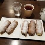 143656519 - コルネ5種 + 紅茶