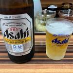 家系ラーメン 教道家 - ドリンク写真:瓶ビール