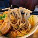 炭火焼き鳥 楽 - 麺アップ