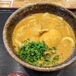 うどん 四方吉 - 豚カレーうどん(大辛)