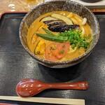 うどん 四方吉 - 野菜カレーうどん(ちょい辛)