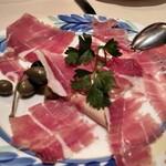 カサ・デ・フジモリ - ハモン・セラーノ、熟成された旨味が溜まりません。