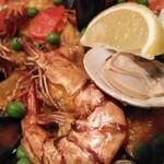 カサ・デ・フジモリ - 海老が味がしみて旨い。