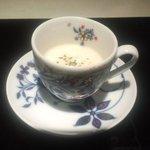 御料理 梅田 - ボルチーニのスープ(冷製)