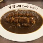津の田カリー - カツカレー(900円)
