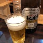 麺や 心楽 - 瓶ビール