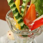 ビストロ ウシベンケイ - 野菜スティック