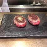極味や - * 極味やハンバーグ&神戸牛ハンバーグ 1,540円