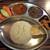 ネパール民族料理店 ネワーダイニング - 料理写真:チキンタリセット(=ダルバート)