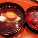 shirokanedaikobayashi - 白甘鯛とカラスミの椀