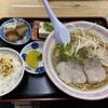 Meigetsu - 料理写真:ラーメン定食です