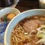 麺や菜かむら - 料理写真:相模橋本らーめん今味醤油味
