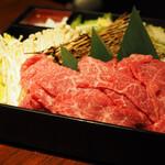 焔立つ肉寿司と牛タンタワー 肉処 双葉 三宮 -