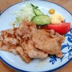 百味 - 豚しょうが焼¥550
