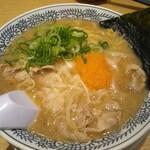 丸源ラーメン - 肉そば650円