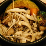 Aburishimizu - 木の子たっぷりスープカレー(ランチ限定)