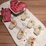 ベンジャミンランチ - 肉寿司