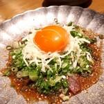 宮崎風土 くわんね - ⚫〆ミニカツオ飯  鰹、葱、生姜をご飯とともに。