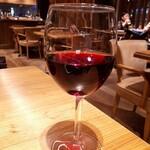 宮崎風土 くわんね - ⚫グラス赤ワイン 宮崎県津農の赤ワイン
