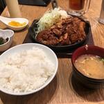 東京トンテキ - トンテキ満腹セット