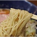 横濱丿貫 - 細くて柔めな麺でした。