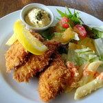 レストラン夕凪亭 - 料理写真:白身魚のフライです