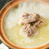 さかえや - 料理写真:水炊き専門店の味を。コラーゲンたっぷりの鶏ガラスープ