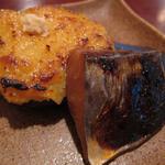 14370290 - 茄子田楽、鰆の西京焼き