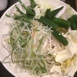 しゃぶ葉 - 料理写真:野菜(2020.12.5)